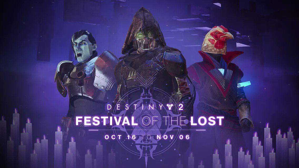 This week at Bungie, we started unboxing the decorations for Festival of the Lost. bungie.net/en/Explore/Det…