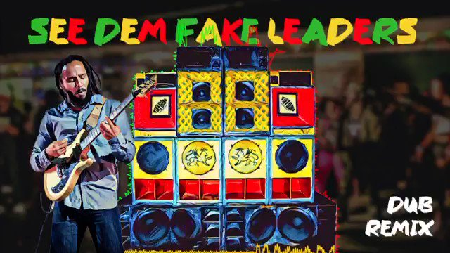 New @ziggymarley See Dem Fake Leaders #dub mix by @sunkingstudios streaming TODAY on all platforms! What characteristics do you think a true leader should have? #ziggymarley #rebellionrises #reggae Listen now: smarturl.it/sdfl_remix