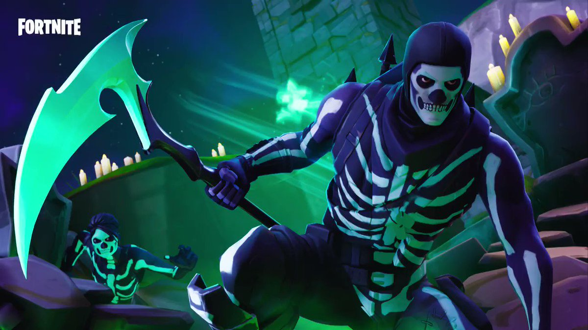 Strike bone-chilling fear 💀 The Skull Squad Gear is available now in the Item Shop.