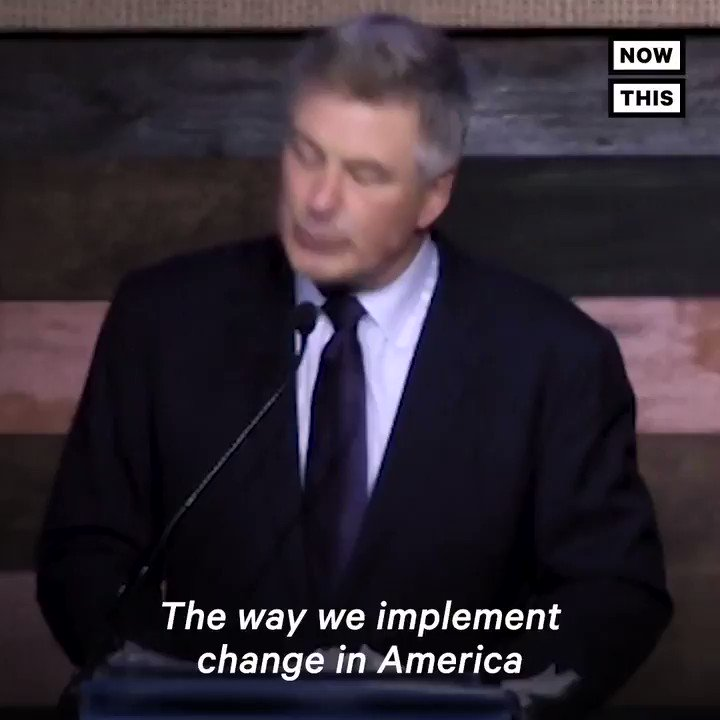 Alec Baldwin wants to overthrow Trump's government in an 'orderly and formal' way
