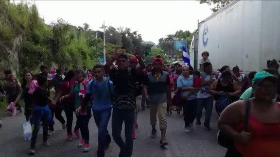 Honduran migrant caravan grows, pushes north into Guatemala https://t.co/0Xa1CSFPuc https://t.co/GJs96fdDKl