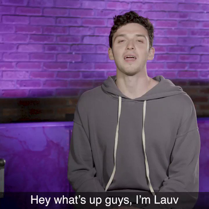 From @jeremyzucker to @juliamichaels, here is @lauvsongs' squaddd �� https://t.co/Qq842TmZFJ #MTVPUSH https://t.co/oJPcnsweY1