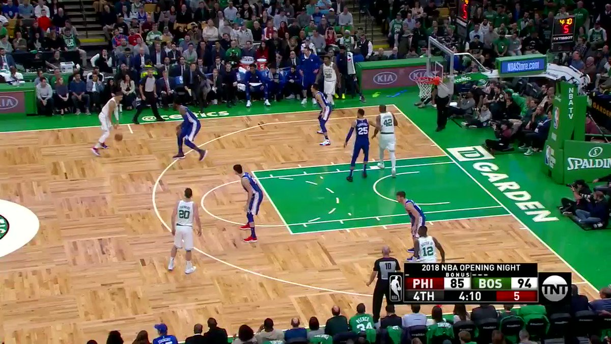 Come for Tatum vs. Embiid.  STAY FOR THE STARE-DOWN AND WINK �� https://t.co/eRf55lETkH