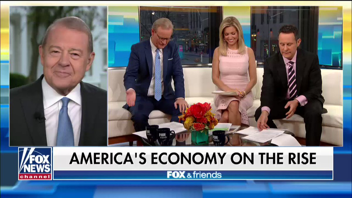 """Stuart Varney: """"We have the most competitive economy in the world."""" @foxandfriends https://t.co/t0p9P7GnHj"""