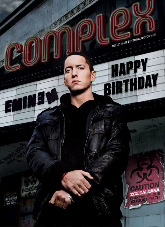 Happy birthday, @Eminem 🎉