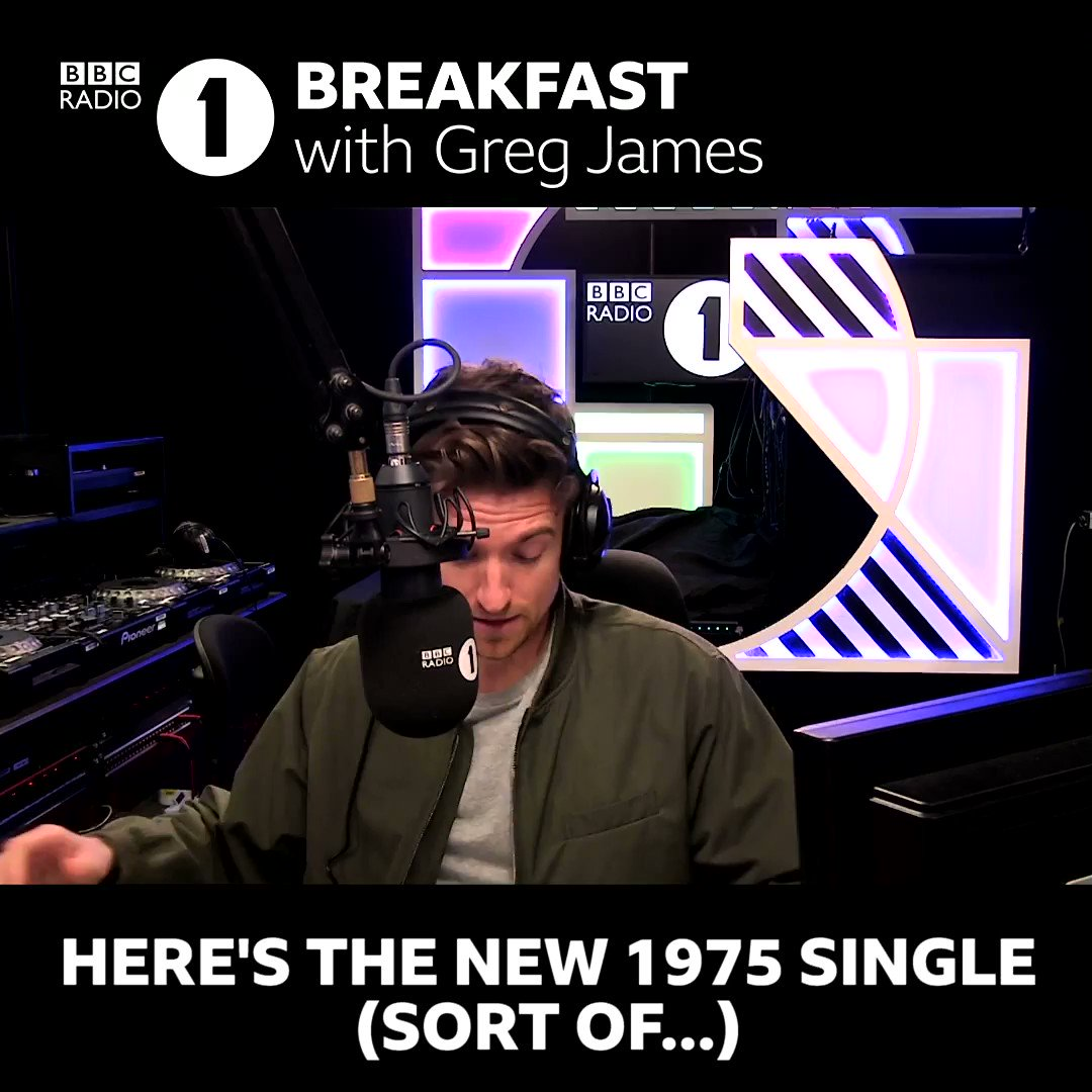 🎶 @the1975 have published the lyrics to their new single 📝 @gregjames imagines what it sounds like... 😂