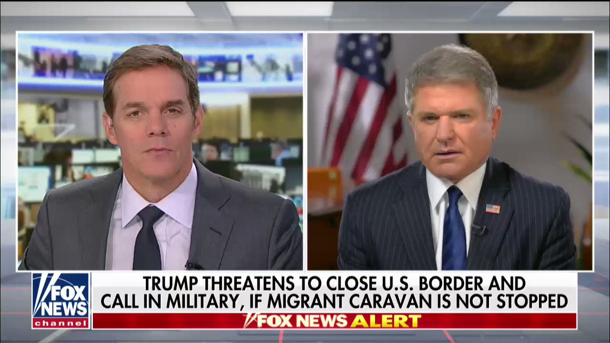 ".@RepMcCaul: ""For the national security of the American people, we have to secure that border."" https://t.co/3AzLvVgEGI"