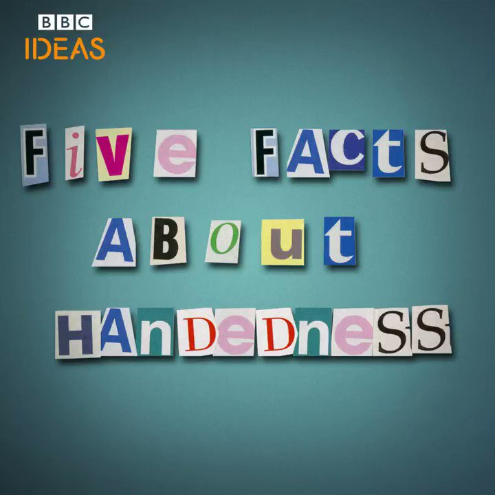 Happy #LeftHandersDay! Here are five facts about handedness you probably didn't know 👐