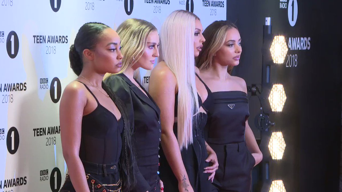 Little Mix say they are challenging female stereotypes in new music video with @NICKIMINAJ for #WomanLikeMe #LittleMix @LittleMix #WomanLikeMe #R1TeenAwards #LM5