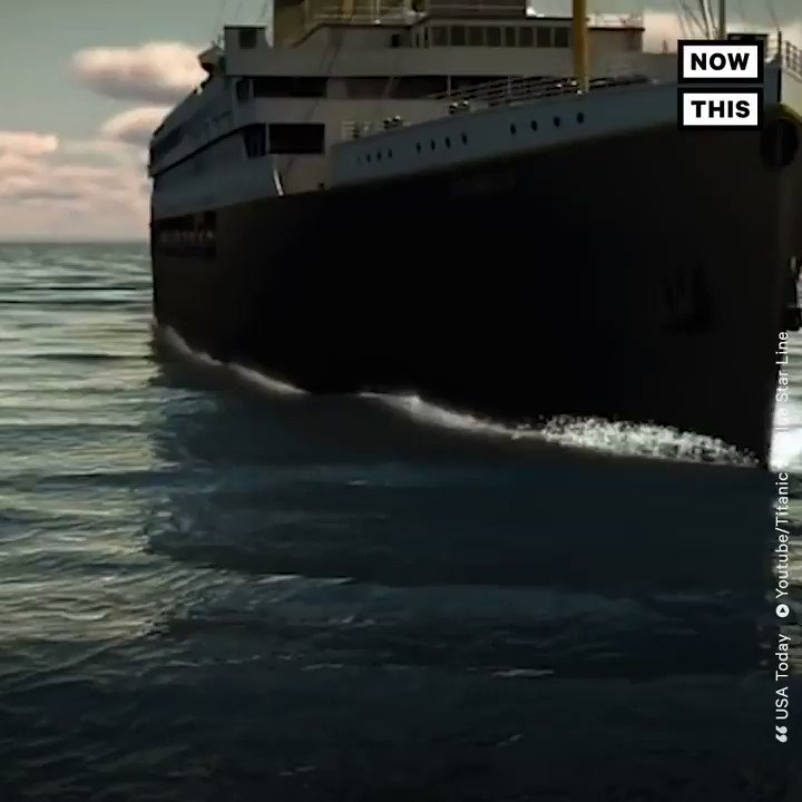 An exact replica of the Titanic will set sail in 2022