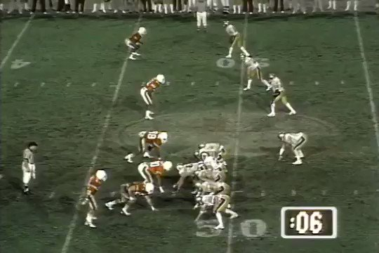 On this night in 1984 Doug Flutie threw the Hail Mary pass that gave Boston College their Miracle in Miami.