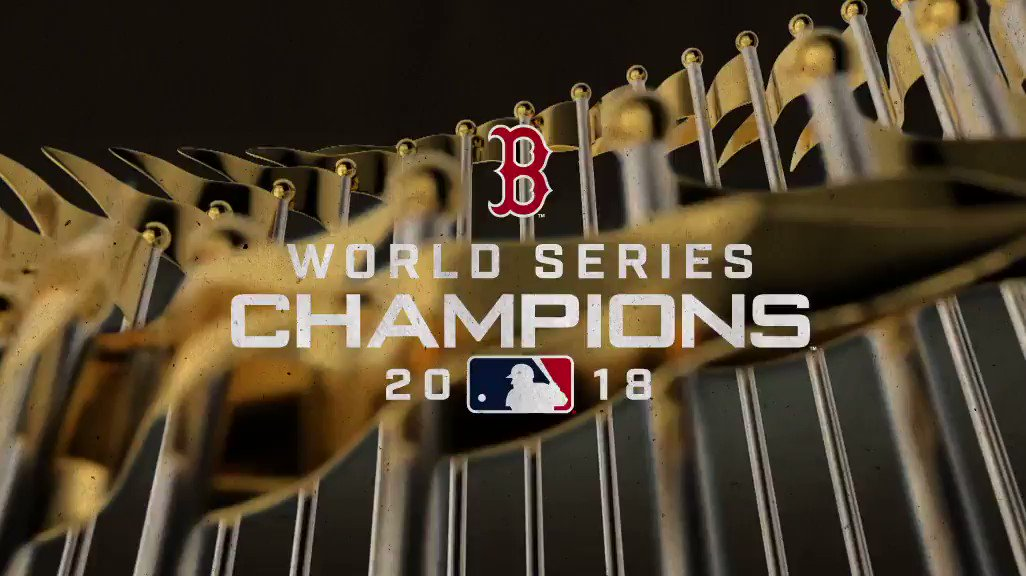 YOUR BOSTON #REDSOX ARE THE 2018 WORLD SERIES CHAMPIONS! #DAMAGEDONE