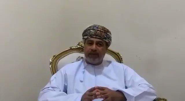 """إسماعيل الأغبري، عضو في مجلس الدولة العماني، يهاجم  #أبوظبي: """"أنتم تحاولون زعزعة أمن البلدان، وتسعون للعبث في أمن سلطنة عُمان، وحاولتم تدبير انقلاب في #قطر وفشلتم، وتُحرقون الأخضر واليابس في #اليمن، وتزرعون خلاياكم في كل مكان وتفشلون، كما حصل في #الصومال التي أخرجتكم صاغرين"""""""