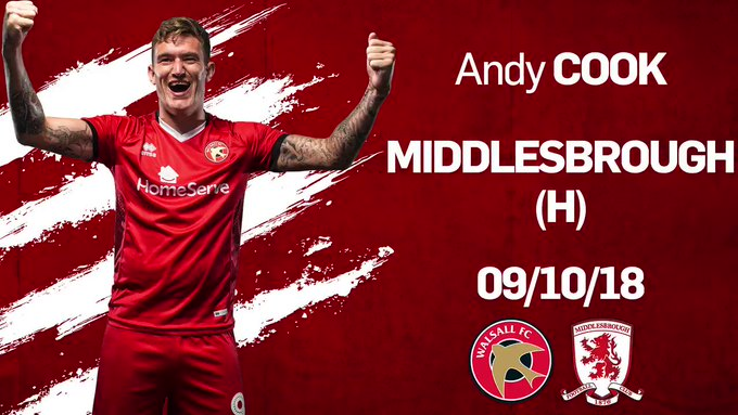Andy Cook Wins October's Goal of the Month Award