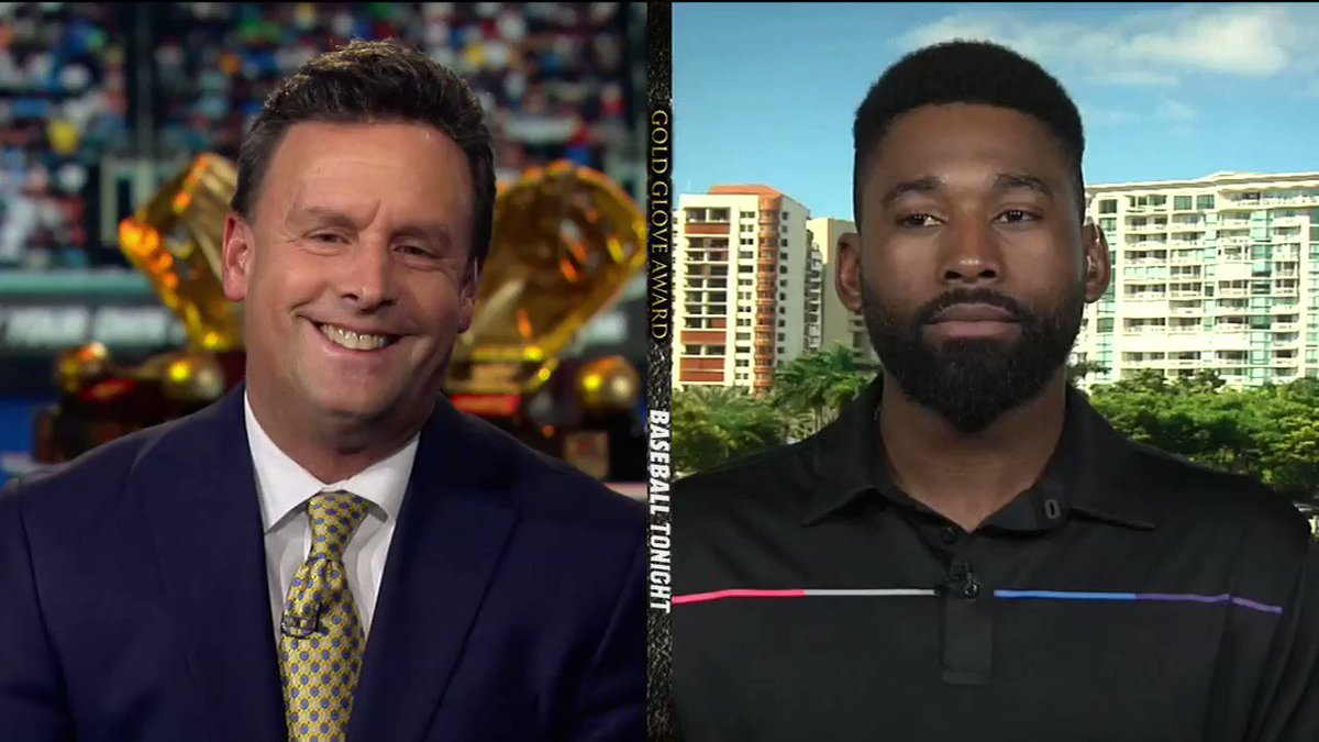 Over the weekend JBJ joined @espn to talk about his #GoldGlove season! https://t.co/7EJ9MPnZ8l