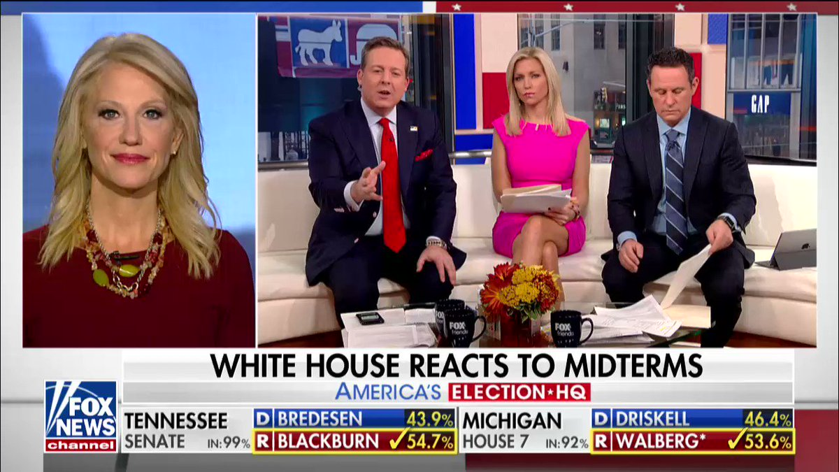 .@KellyannePolls reacts to the midterms on @foxandfriends https://t.co/vgsjTekOnB