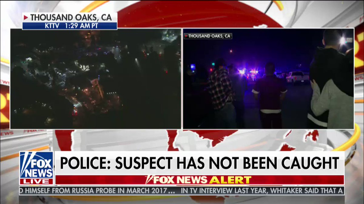 """Daniel Hoffman on California shooting: """"This still an active shooter scene, and the focus is on dealing with that active shooter and trying to limit whatever more damage that this guy could cause."""" @FoxFriendsFirst https://t.co/PvITYr54AX https://t.co/gbASVFGWPJ"""