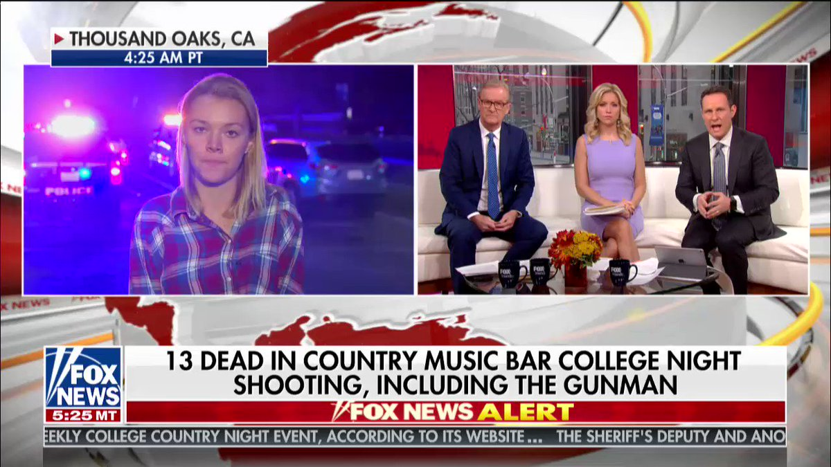 Teylor Whittler describes what she witnessed at California bar shooting  https://fxn.ws/2Da13Zx