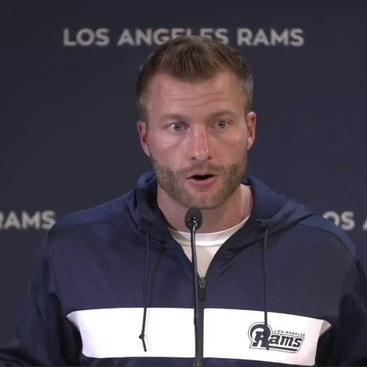 Coach McVay on the tragedy in our community of Thousand Oaks: