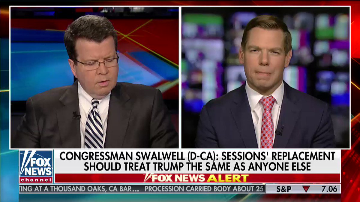 .@RepSwalwell to Neil: I'm absolutely looking at a 2020 presidential run