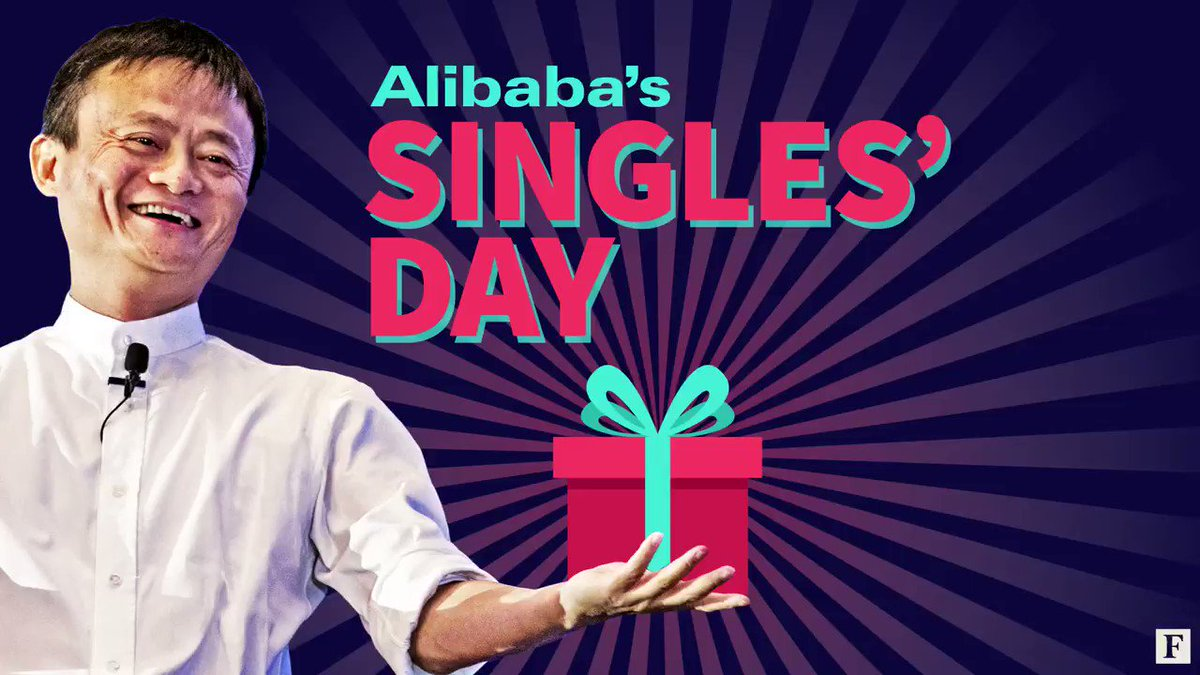 Alibaba's Singles' Day is the world's largest online shopping day, outperforming Black Friday and Cyber Monday. https://t.co/xLRaZI261W