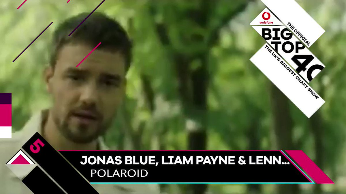 Its climbed a massive 15 places! Polaroid from @JonasBlue @LiamPayne & @lennonstella reaches its highest chart place yet - its at Number 5! 📸 See the full chart 👉 bt40.co/bt40