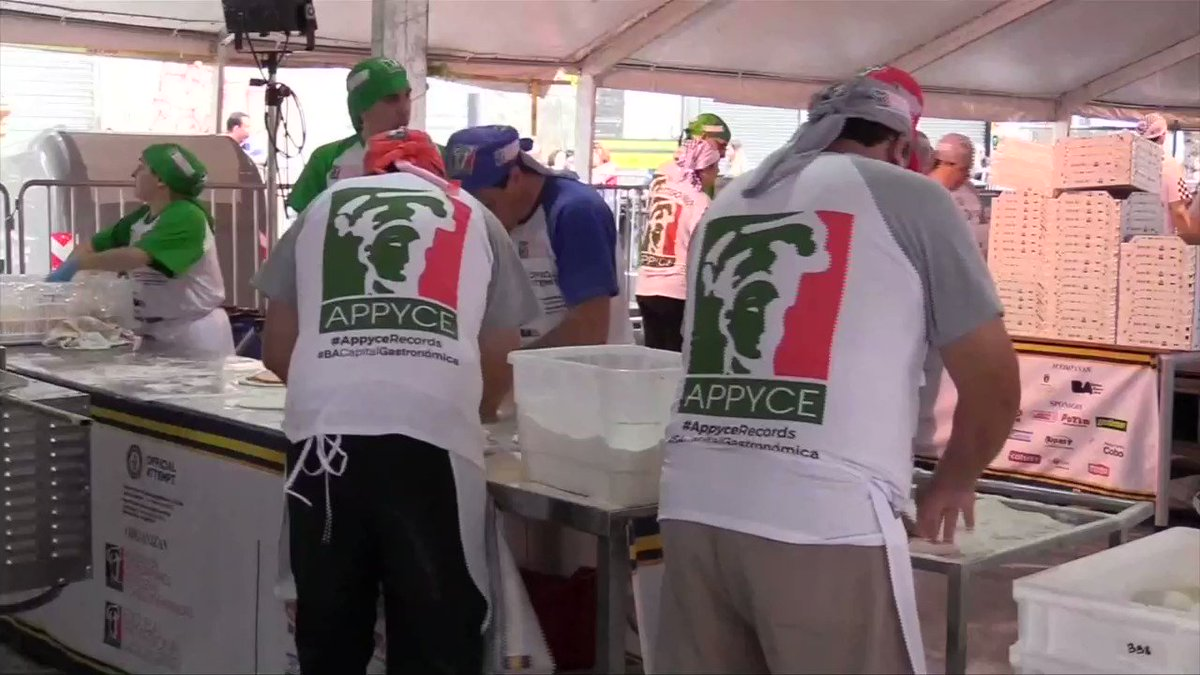 11,000 pizzas in 12 hours: Argentina chefs set a new Guinness World Record https://t.co/G4U4K5VxYP