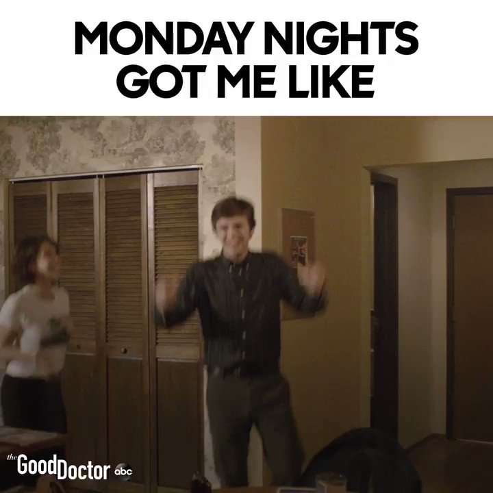 Mondays are better with #TheGoodDoctor.