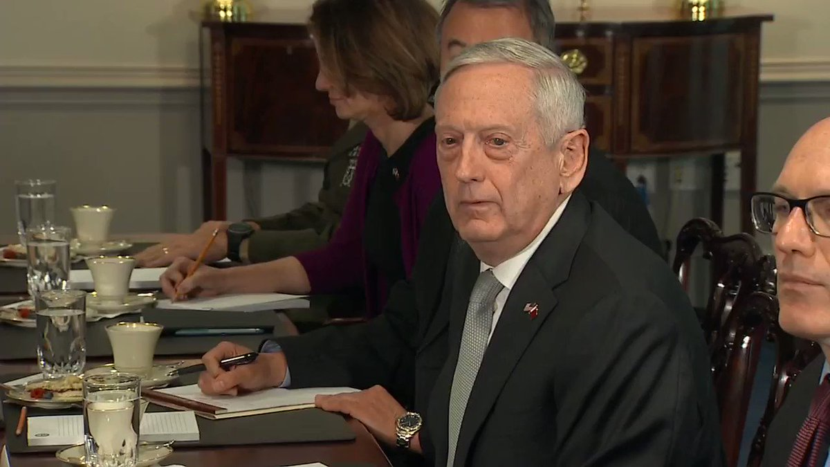 Defense Secretary James Mattis: 'I'll visit the border tomorrow.' https://t.co/ugRoMfURYR https://t.co/7A8wT2IGef