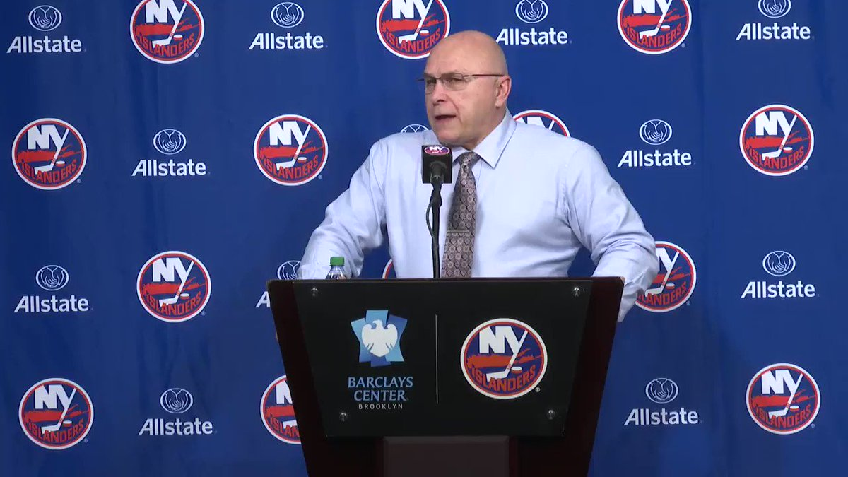 Image for the Tweet beginning: The 🔑 to tonight's win?  Trotz