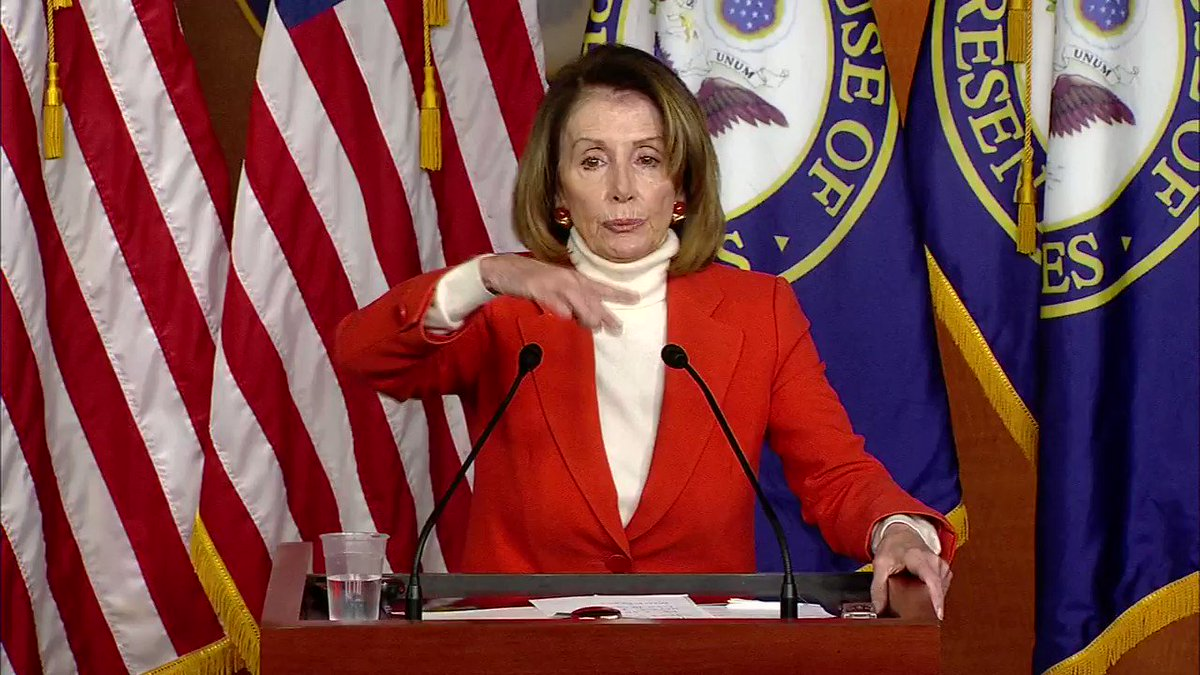 Nancy Pelosi: 'I have overwhelming support in my caucus to be Speaker of the House.' https://t.co/Ijj9whnHDX https://t.co/kdYydhLKnd