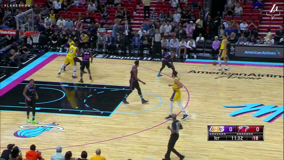 �� LeBron dropped 51 points tonight in Miami to go along with his 8 boards and 3 helpers #LakersWin https://t.co/cSlaHlBICc