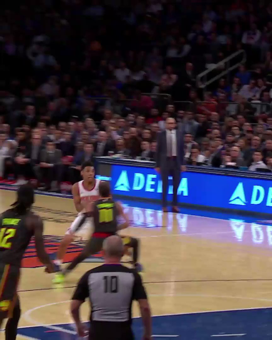 Ahead of tonight's @NYKnicks action, we showcase undrafted rookie starter @ISO_ZO! #NBARooks  #NewYorkForever x #RipCity 7:30pm/et @NBATV