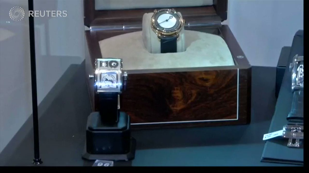 Sotheby's holds its first auction for watches in the Middle East