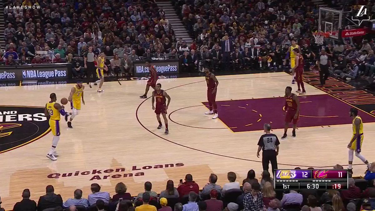 cheap for discount 081f3 7a06c LeBron finished with 32 points, 14 rebounds and 7 dimes in his return to  Cleveland  LakersWin https   t.co Jn552AVs1d