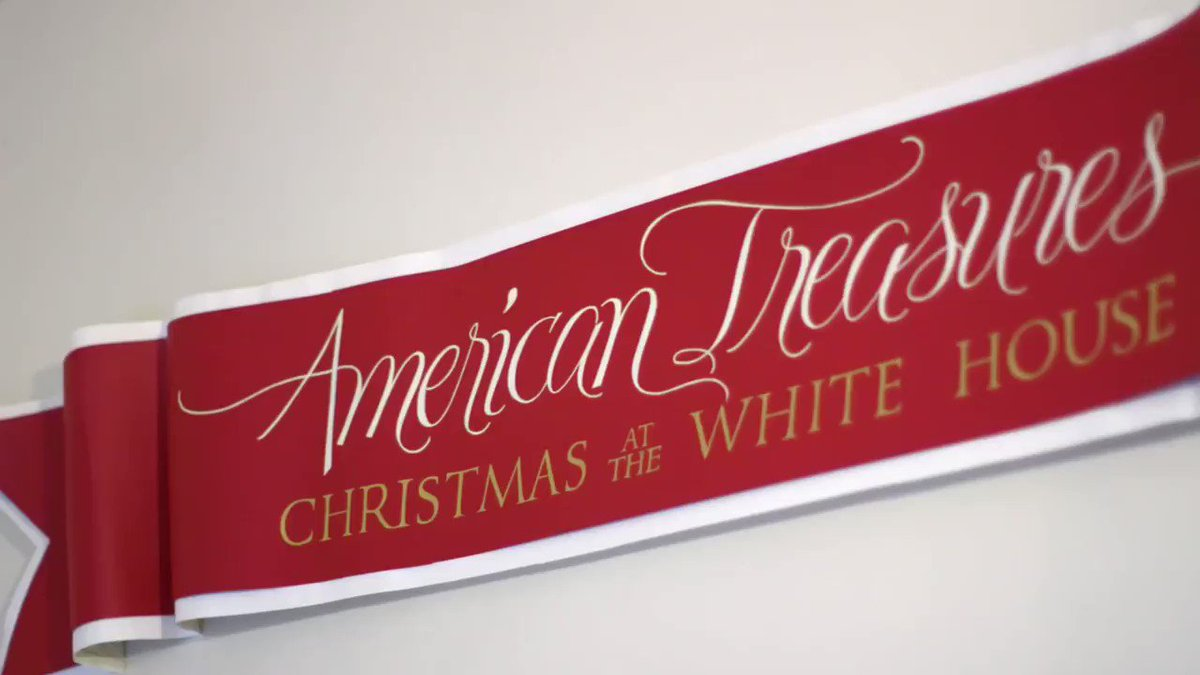 The People's House @WhiteHouse is ready to celebrate Christmas and the holiday season!