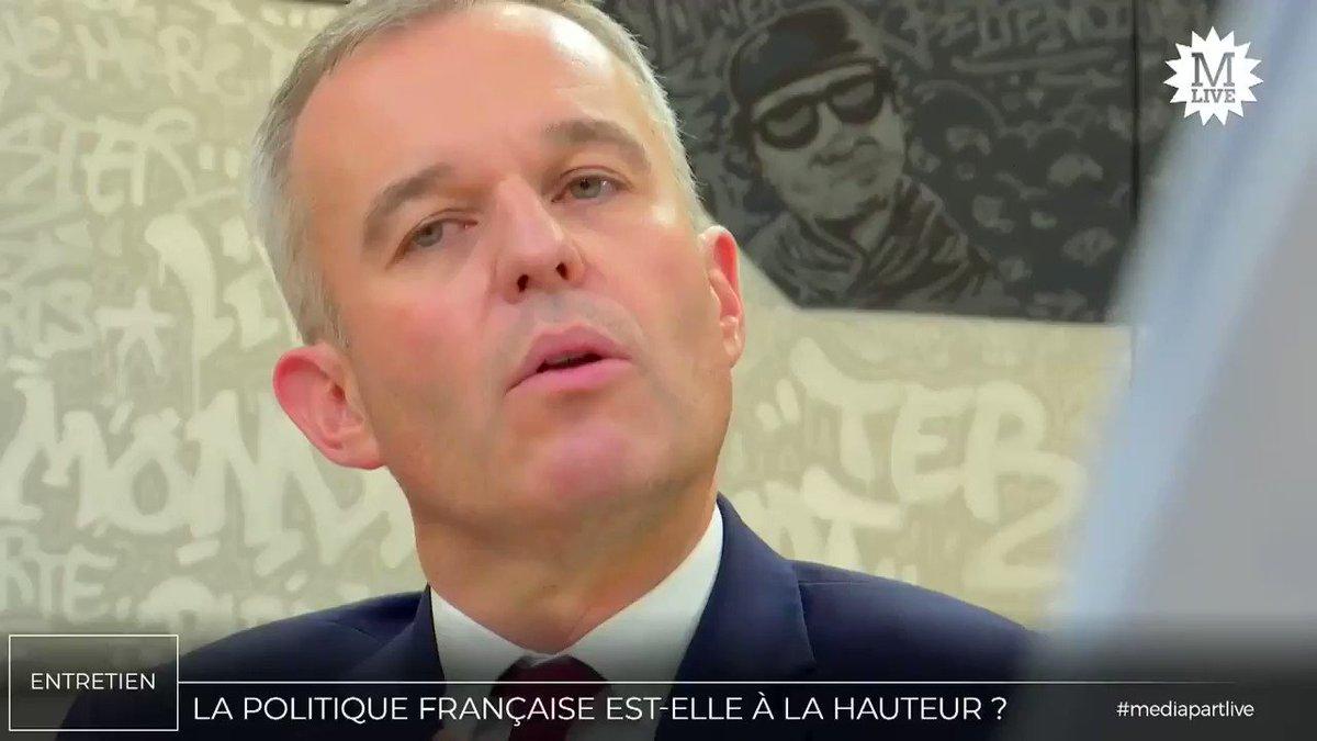 François de Rugy (@FdeRugy) : «La fiscalité écologique ne regarde pas le revenu de ceux qui polluent, elle n'a pas vocation à résoudre les inégalités» #MediapartLive
