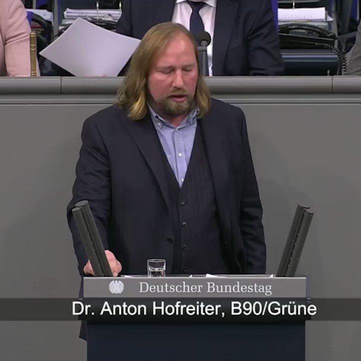 Grune Im Bundestag On Twitter Anton Hofreiter Wir