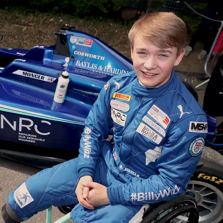 It's been a remarkable 2018 for @BillyMonger  On Sunday, he was honoured with the BBC Sports Personality of the Year's Helen Rollason Award, for outstanding achievement in the face of adversity. We can't think of a more deserving winner 👏  #SPOTY #BillyWhizz