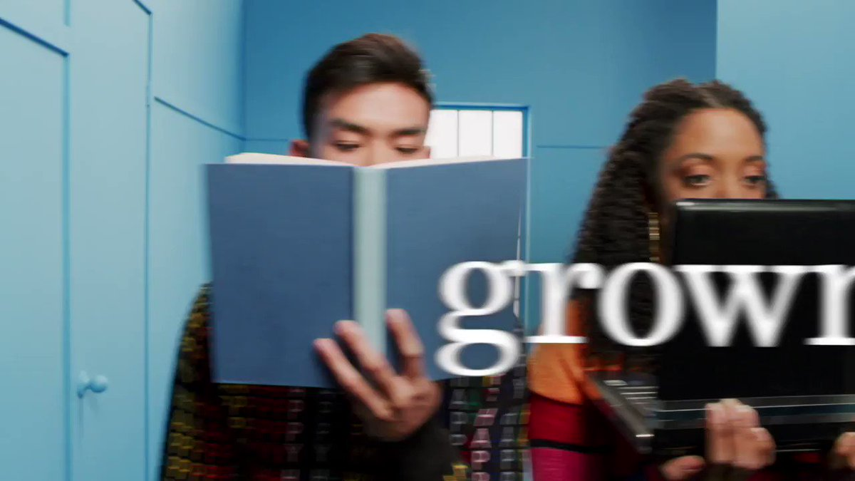 sophomore year is a whole nother world. #grownish season 2 is coming to you january 2nd on @freeformtv.