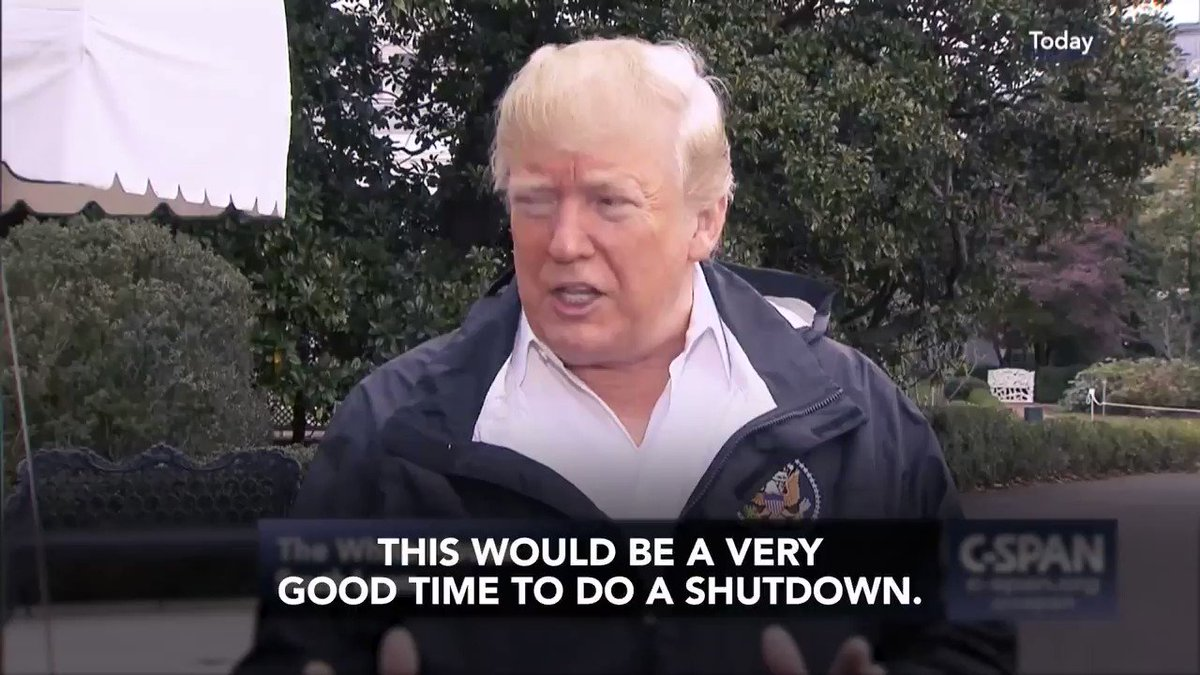 There are two good, bipartisan options on the table for the president to avoid a shutdown.   @realDonaldTrump is the only reason there would be a shutdown.   RT if you think the country shouldn't suffer because of a #TrumpTemperTantrum.