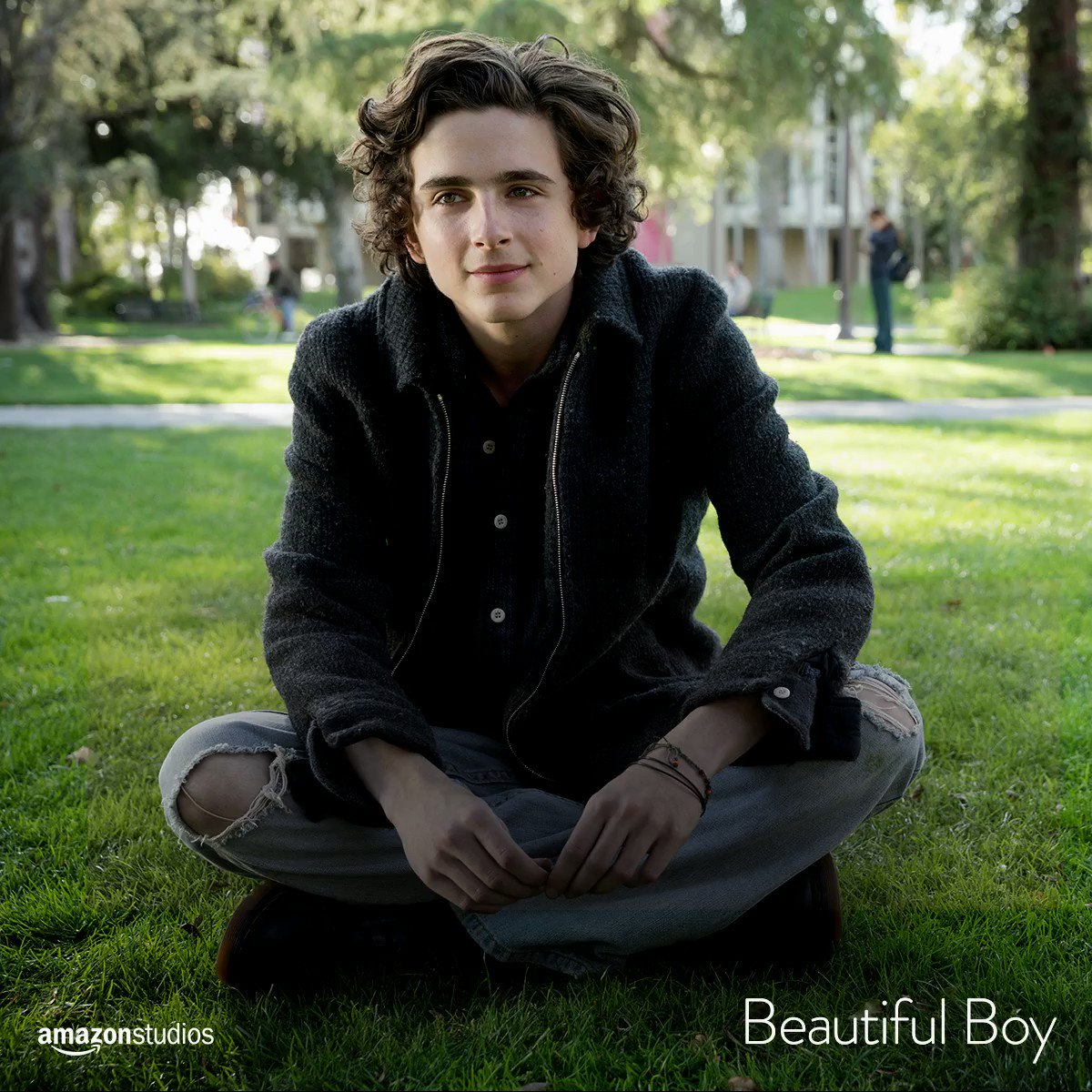 Congratulations to @realchalamet for his #GoldenGlobes nomination for Best Performance by an Actor in a Supporting Role in any Motion Picture. #BeautifulBoy