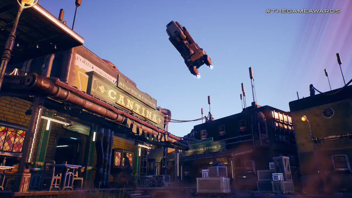 Revealed at #TheGameAwards: The Outer Worlds, a brand new title from @Obsidian!