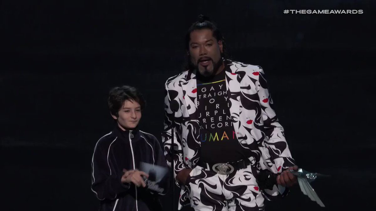 Admit it, you totally yelled when he did the voice. #TheGameAwards