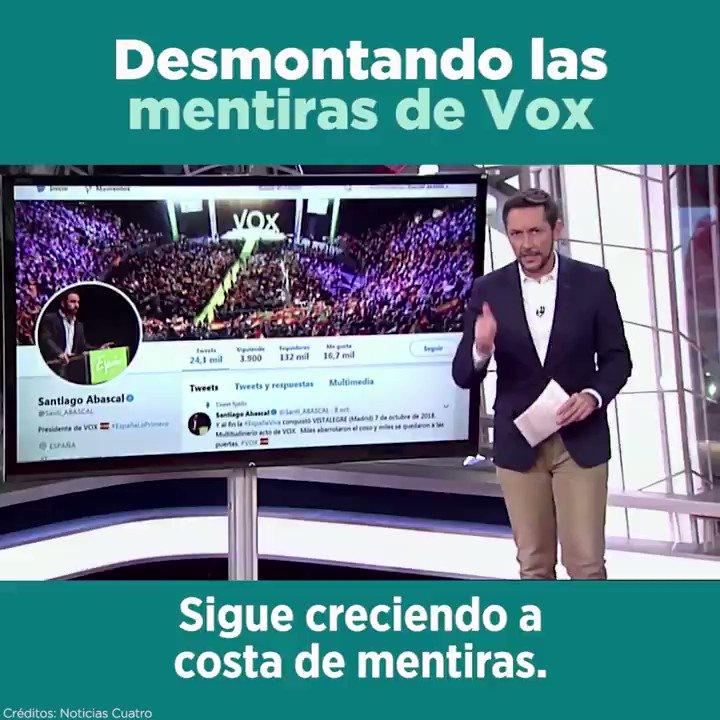 📽️ Javier Ruiz (@Ruiz_Noticias) desmonta las mentiras de Vox en menos de tres minutos. 👇