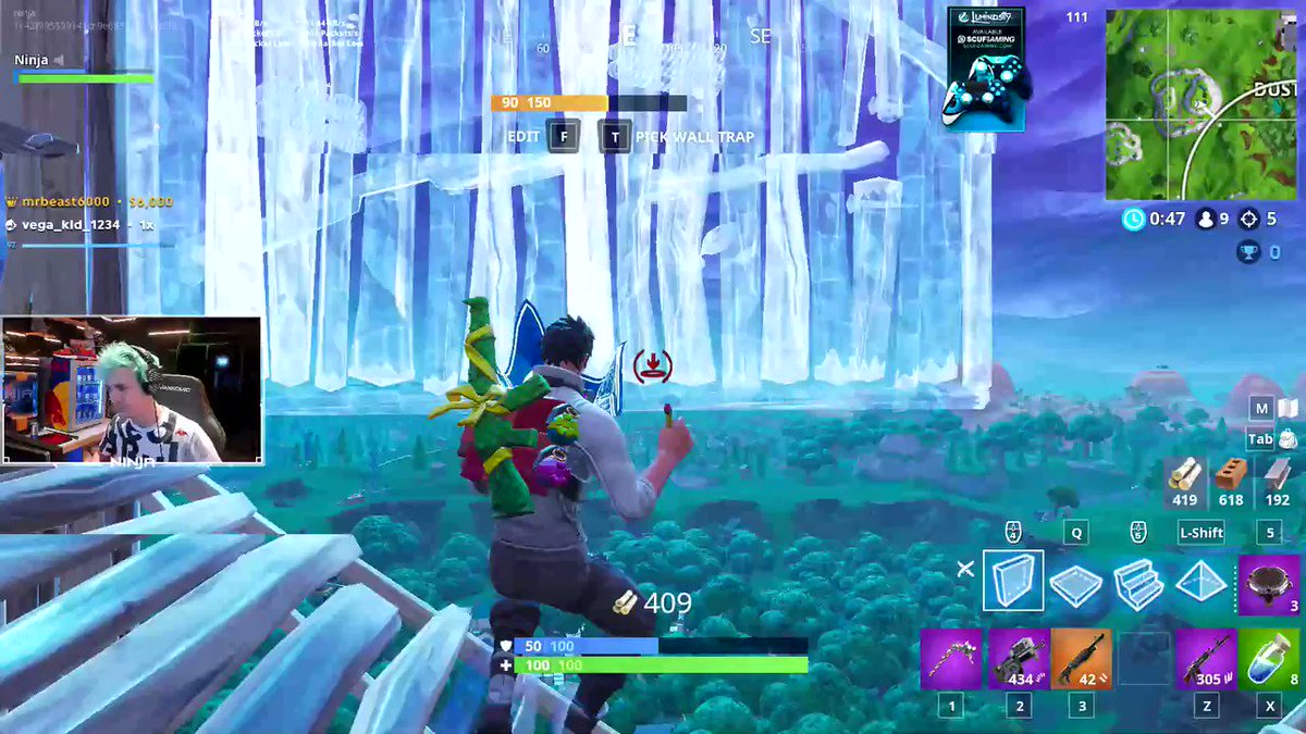 My first Fortnite plane experience