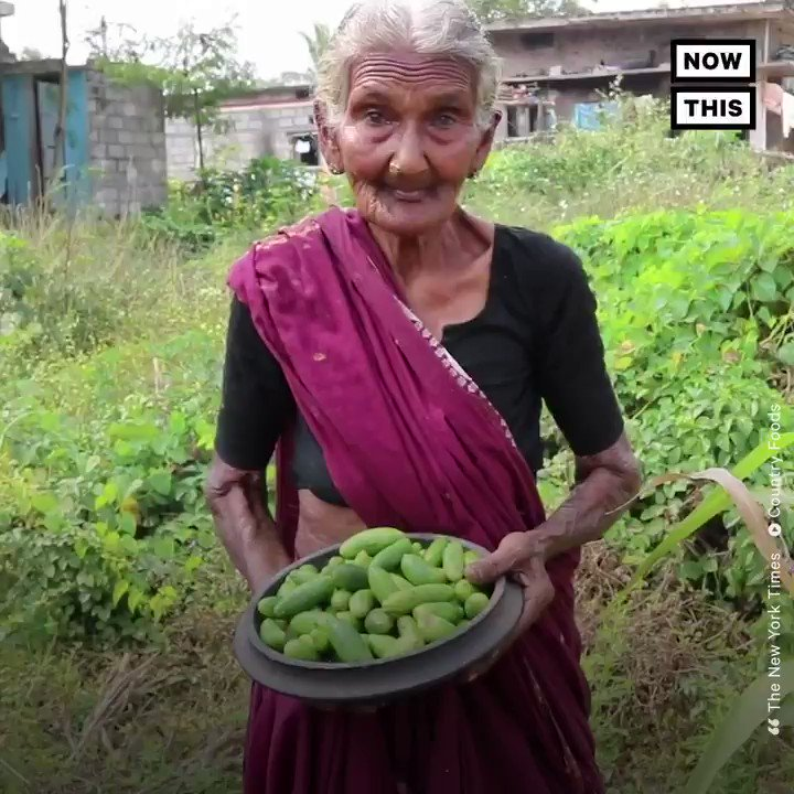 This great-grandma and beloved YouTube chef passed away at 107 after sharing countless Indian recipes with the world