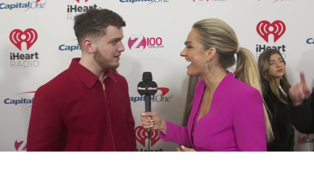 We caught up with @Bazzi at #Z100JingleBall to chat about creating new music, collaborating with Camila Cabello and more.
