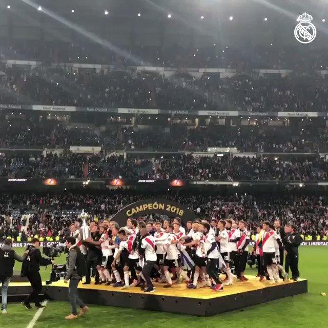 🙌 ¡Fue un placer acoger la Final de la Copa Libertadores 2018!  🏆 #CONMEBOLLibertadores