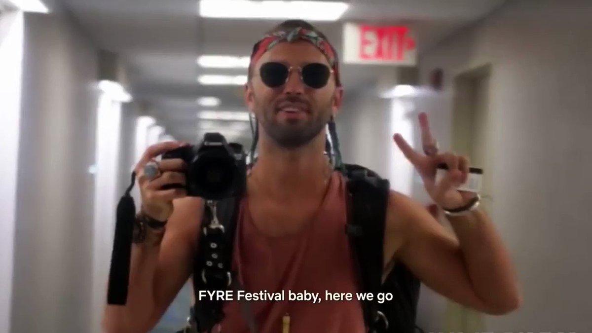 FYRE Festival Doc. January 18th. Netflix. I'm already locked in! 🙏🏾